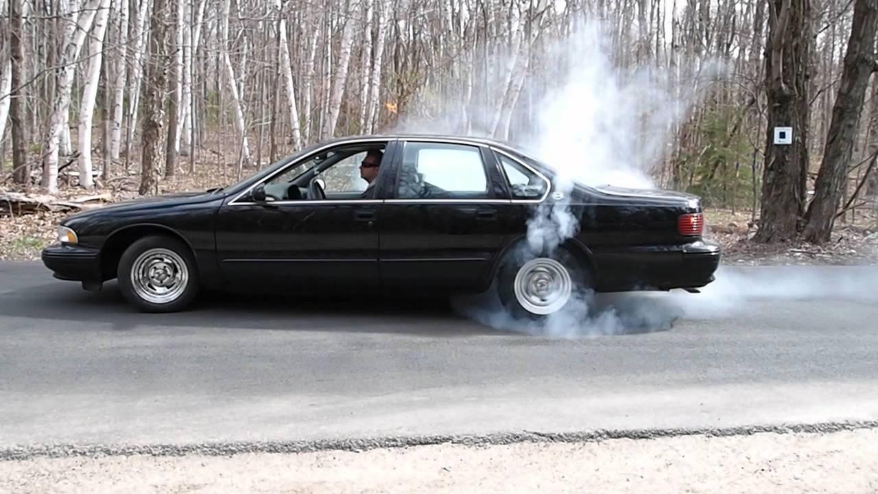 96 Impala Ss Burnout Lumpy Youtube