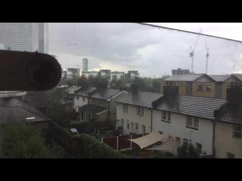 Hail storm London