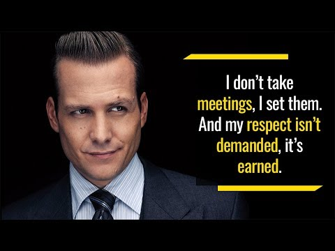 This is how you own the competition like a boss | Harvey Specter