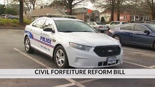 Law enforcement leaders push back on parts of civil forfeiture reform bill