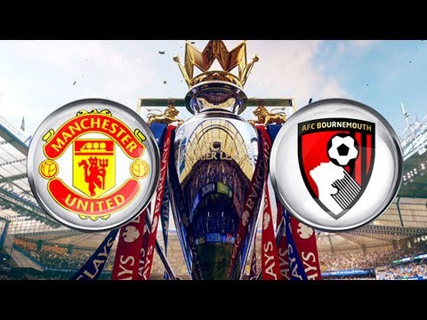 Bournemouth 0 - 2 manchester united live full match!!! reaction stream!!!