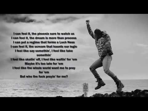 Kendrick Lamar - FEEL (Lyrics Video 1080p HD)