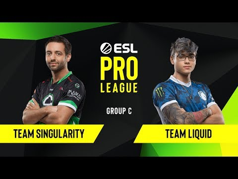 CS:GO - Team Liquid Vs. Team Singularity  [Dust2] Map 2 - Group C - ESL NA Pro League Season 10