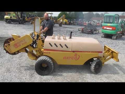 Rayco RG50 Stump Grinder