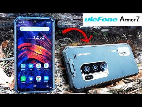 Ulefone Armor 7 - СМАРТФОН 2020 с ЗАЩИТОЙ IP69 для НАСТОЯЩИХ МУЖИКОВ