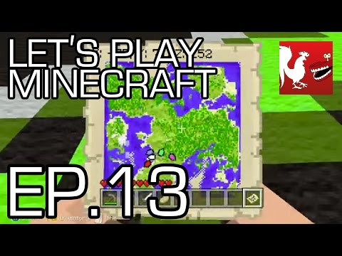 Let's Play Minecraft - Episode 13 - Find the Tower Part 1 | Rooster Teeth