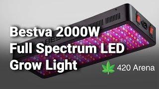 Bestva 2000W Full Spectrum LED Grow Light: Complete Review & Details - 2019