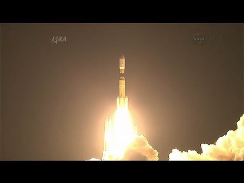 JAXA HII-B Rocket Launches The HTV-4 Resupply Spacecraft To ISS With Cargo And Experiments