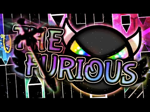 """The Furious (Demon) by Knobbelboy — """"Geometry Dash"""""""