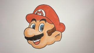 How To Draw Super Mario Step By Step