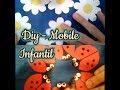DIY - Mobile de joaninha facil