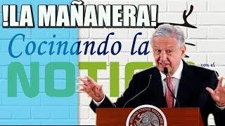 CONFERENCIA MAÑANERA DE ANDRÉS MANUEL LÓPEZ OBRADOR