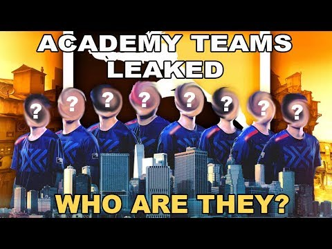 ALL OVERWATCH LEAGUE ACADEMY TEAMS LEAKED!! (Find out who made it!!)