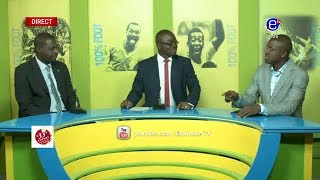 100% FOOT (RETRAIT DE LA CAN 2019, COUPE DU CAMEROUN) DU LUNDI 03 11 2018 EQUINOXE TV