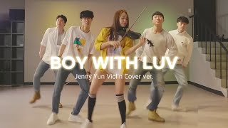 Gambar cover 방탄소년단(BTS)_작은것들을위한시(Boy With Luv) Violin Cover( by Jenny Yun)