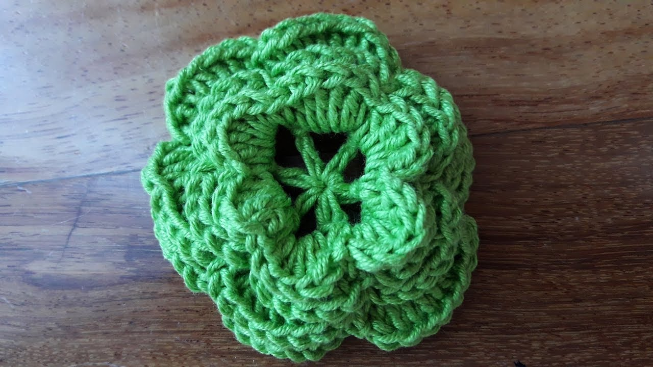 Uncinetto Crochet Rosa Dirlanda Youtube