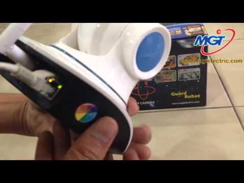 Review (รีวิว) MGT Wifi IP Camera Guard Robot และวิธีการติดตั้งกล้อง ง่ายที่สุดในโลก