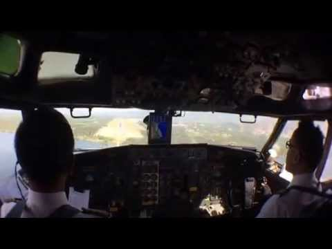Short Trip Papua from Wamena to Sentani Jayapura Indonesia by Xpress Air 603 Boeing 737-200 PK-TXK