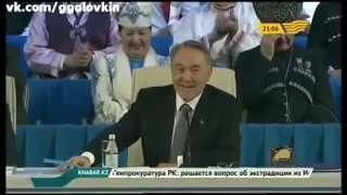 Геннадий Головкин на Ассамблеи народа Казахстана