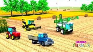 Мультики про экскаватор и про трактор