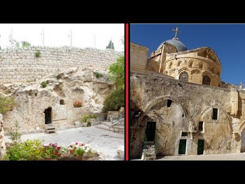 If Jesus Christ's resurrection is true, why does he have TWO tombs?