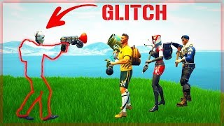 * THE STRONGEST GLITCH! * WE BECAME INVISIBLE IN FORTNITE!! : About
