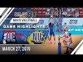 UAAP 81 MV: UE vs. NU   Game Highlights   March 27, 2019