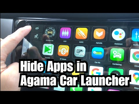 Hide Apps In Agama Car Launcher