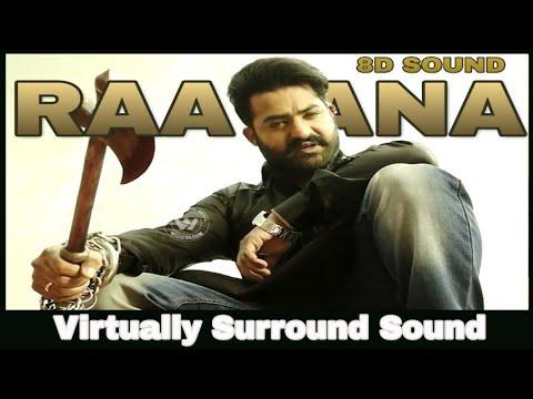 Raavana  8d Audio Song  Jai Lava Kusa  Bass Boosted  Telugu 8d Songs