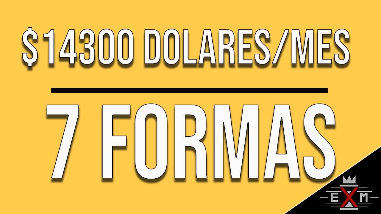 7 Formas de Generar 【Más de $14300】 Ingresos Pasivos por Internet
