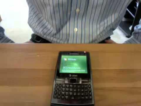 First Boot Up the Samsung Epix SGH i907