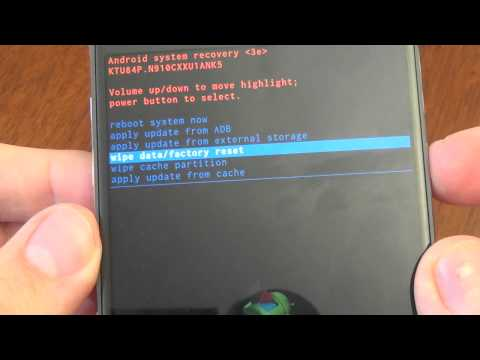 Samsung Galaxy Note 4 N910C hard reset
