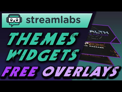 Free Streamlabs Overlay Downloads Streamlabs OBS Themes And Widgets (SLOBS)
