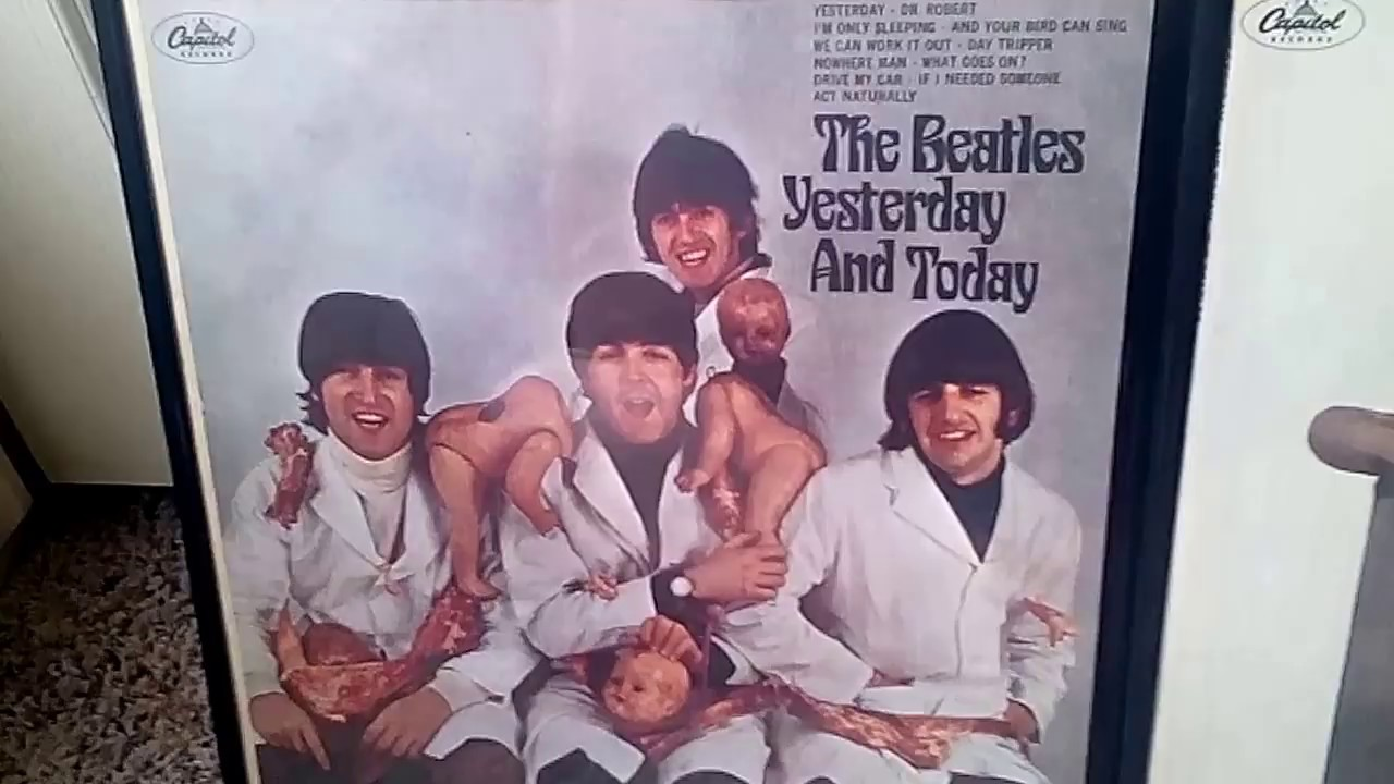 1st State Beatles Butcher Cover Compared To 2nd3rd States