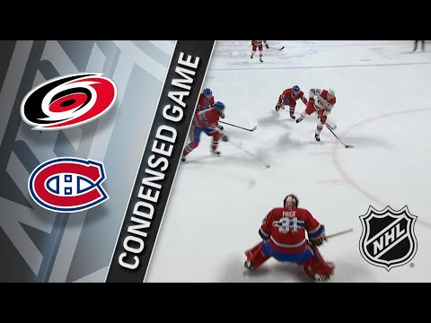01/25/18 Condensed Game: Hurricanes @ Canadiens
