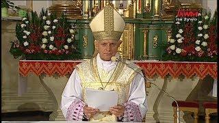 Homilia ks. abp. Mieczysława Mokrzyckiego, wygłoszona podczas SRRM w Biłgoraju