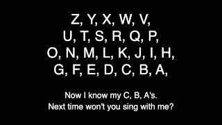 The Backwards Alphabet Song