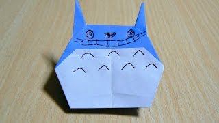 Origami. Nghệ thuật gấp giấy. Totoro