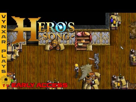 Hero's Song - an Action RPG by the makers of Everquest with procedural world history - Early Access