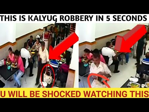 #robbery #robberyinindia l THE SHOCKING ROBBER TAKES EVERYTHING IN 5 SECONDS l ROBBERIES INDIA l