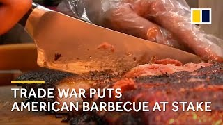 Trade war threatens China's love for American barbecue