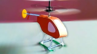 How to make a electric helicopter thats fly