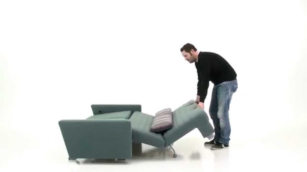 Künstlerisch Sofa Relaxfunktion Ideen Von Faltsofa Mit Und Armlehnen Von Ell+ell