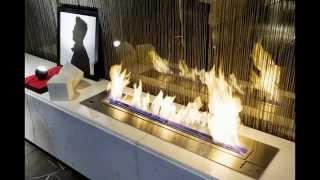 AFIRE Chimeneas y Hogares de diseño: instale su quemador de bioetanol con mando a distancia