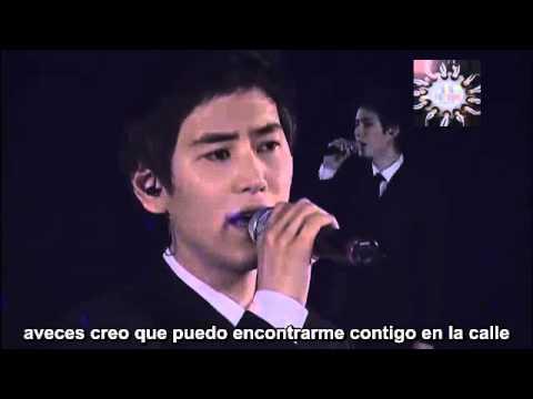 [Sub español] Kyuhyun: I Was Once By Your Side