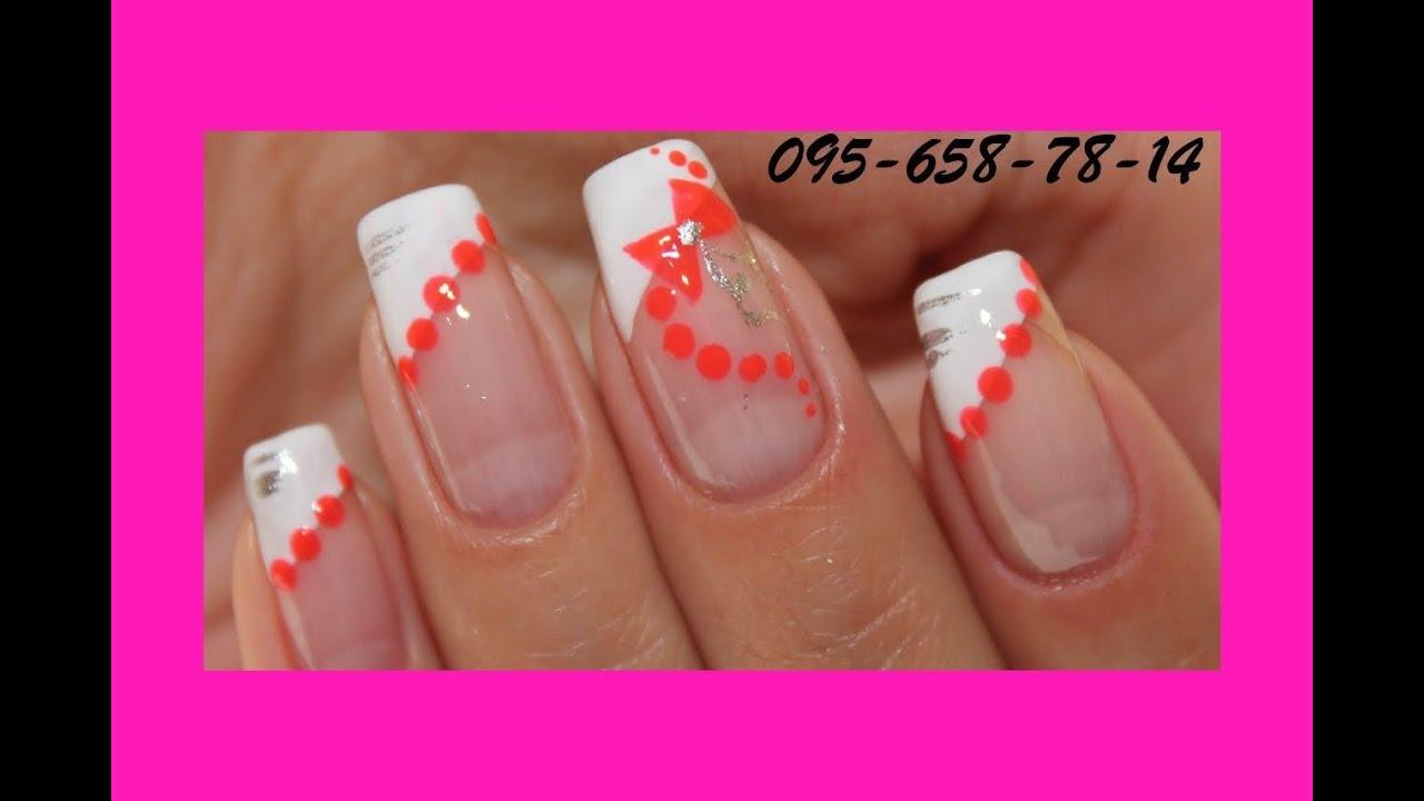Дизайн ногтей.бантики