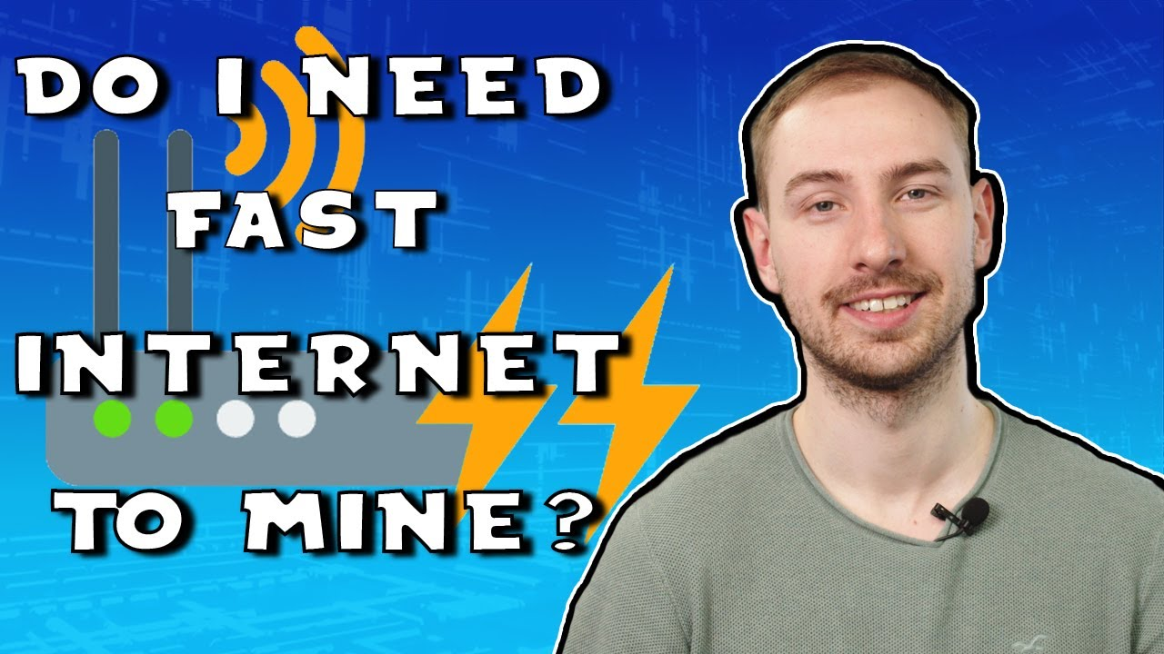 bitcoin mining speed internet