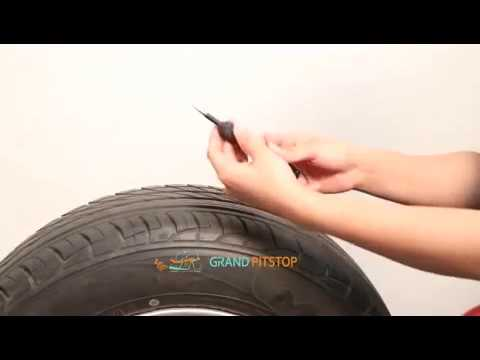Tubeless Tyre Puncture Repair Kit -...