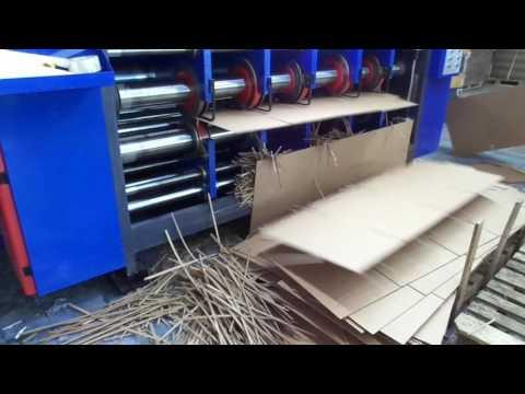 Автоматическая линия для производства гофротары SKIF