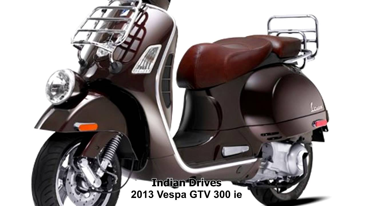 vespa gtv 300 ie classy looks youtube. Black Bedroom Furniture Sets. Home Design Ideas